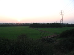 Sunset over Pitsea Dump (Community Archive) Tags: uk england bus rally transport essex 151 canveyisland canvey easternnational canveyonsea