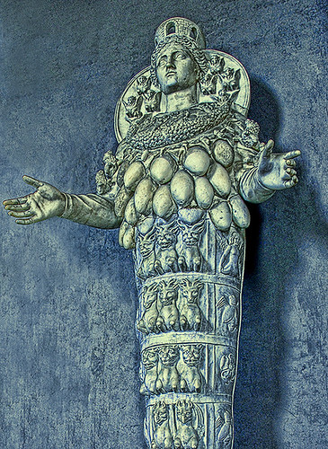 Vatican Museums. Statue of Cybele - Goddess of Fertility | Flickr ...