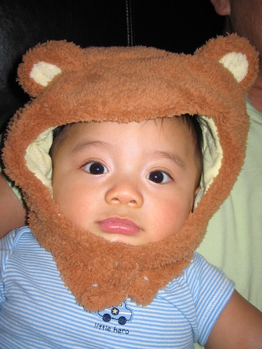 sneak preview of aston's first halloween costume