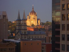 St Paul, MN Cathedral of St Paul at Sunrise (army.arch) Tags: church architecture sunrise downtown catholic cathedral stpauls historic dome mn stpaulminnesota nationalregister nrhp architecturalcontrast