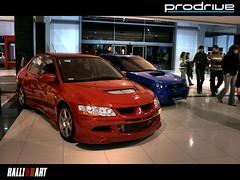 RalliArt vs Prodirve (Zek.) Tags: blue red car lens high raw rally 8 style evolution iso subaru kit viii ralliart impreza wrx sti hdr mitsubishi evo hdri prodrive canoneos400d digitalrebelxti 1855mmf3556ii