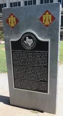 45th Infantry Division at Camp Berkeley Marker (Abilene, Texas) (courthouselover) Tags: texas tx westtexas abilene taylorcounty ushighway84 texashistoricalmarkers ushighway83 texaspanhandleplains