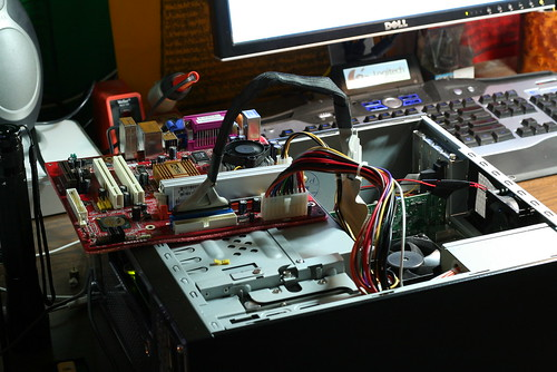 Bench Testing my gPC motherboard