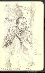 Illustration live of Yuri Ciccarese on my Mole...