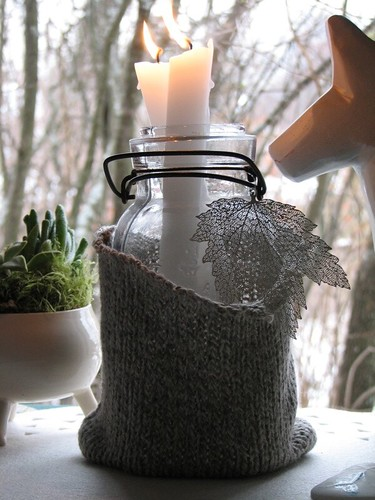 Cozy Candle Jars {DIY}