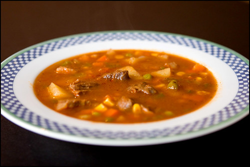 Homemade Beef Vegetable Soup