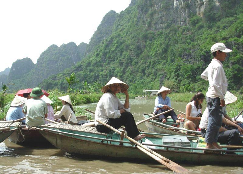 Sur l'eau-Tam Coc (4)