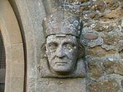Wentworth stone carving (right) (familytreeuk) Tags: church stonework masonry carving wentworth genealogy familytreefamilytreeukcoukfamilyhistoryhistorycambridgeshireely
