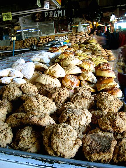 Baked Goods in Oaxacan Market