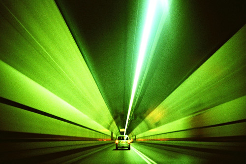 speeding tunnel