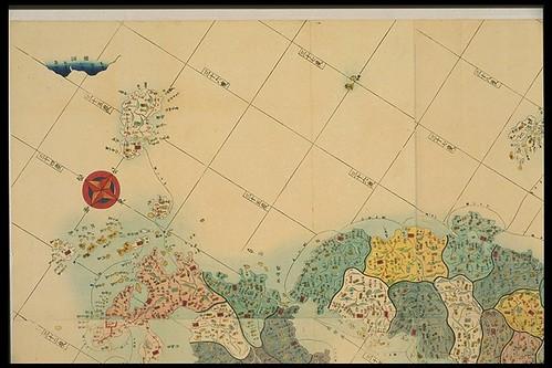 1849 「嘉永新増 大日本国郡輿地全図」
