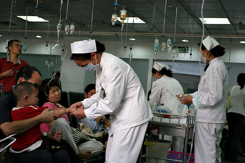 Hospital in Asia