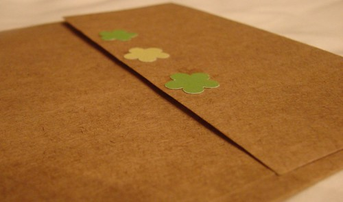 Purple Plaid Envelope