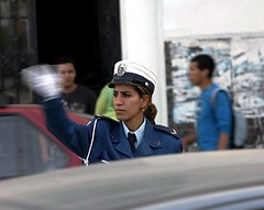 Algerian Police Officer