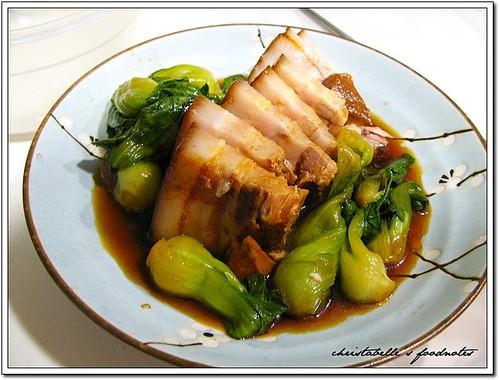 福華08年菜 紹興東坡肉