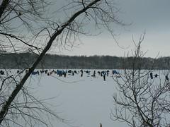 Ice Fishing on Lake Mendota (Davino) Tags: wisconsin madison icefishing lakemendota