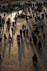 At sunset, the market comes alive (smashz) Tags: sunset food shadows market morocco marrakech meknes jemmaalfna smashz wtotm0208