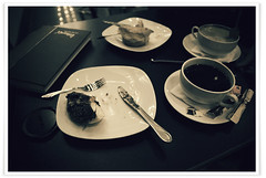 Black Coffee Pls. (Recovering Sick Soul) Tags: black coffee noir moody iran donut iranian tehran  nima  cafnoir fatemi       nimafatemi