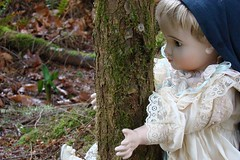 Tree Hugger (portugita_norton) Tags: trees fern washington doll olympia evergreencollege livingdoll