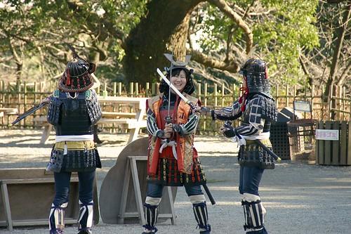 Odawara Castle Samurai