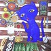 Le chat de l'artiste