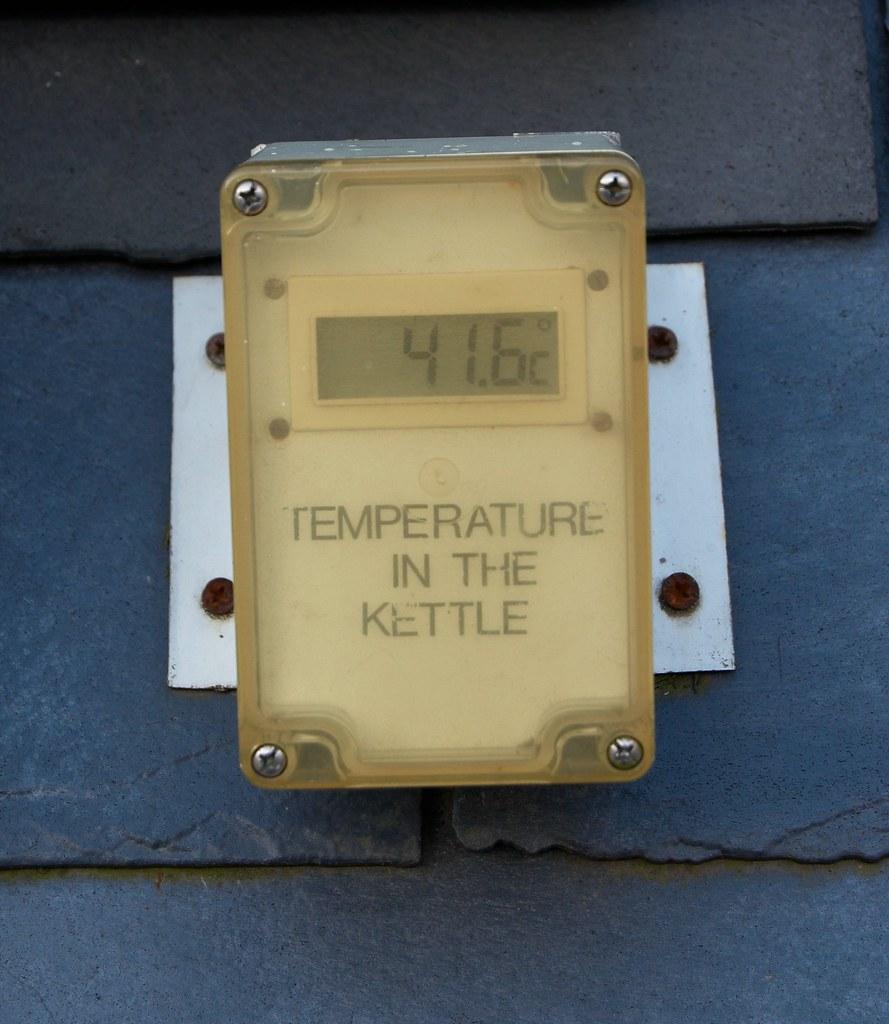 Solar water heating: max temp