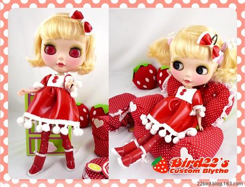 strawberry girl by ๑۩ﺴ ♡ lydia ♡ ﺴ۩๑.