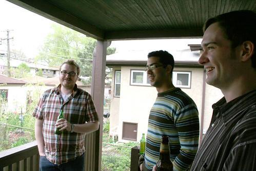 Brandon, Jason, Pat