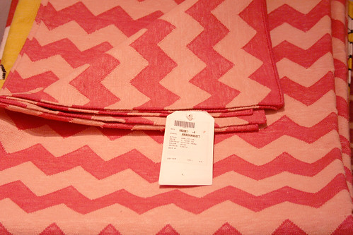 Pink Madeline Weinrib Zigzag Rug