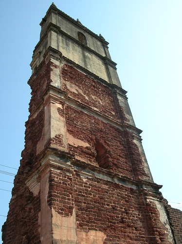 another view of Church of St.Augustine, GOA