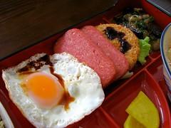 (earthhopper) Tags: food japan geotagged lunch japanese yummy egg pork soba okinawa  sunnysideup ginowan okinawan   okinawasoba        chinbuku geo:lat=26284820 geo:lon=127765734