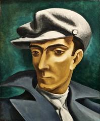 Self-Portrait (undated) - José de Almada Negreiros (1893 - 1970) (pedrosimoes7) Tags: josédealmadanegreiros artgalleryandmuseums creativecommons cc museu museum musée portuguesepainters peintreportugais pintoresportugueses modernista moderniste portrait retrato selfportrait ✩ecoledesbeauxarts✩