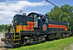 CMRR 401 (smbrooks_2000) Tags: railroad train weathered locomotive hudsonvalley alco kingstonnewyork rs1 cmrr catskillmountainrailroad