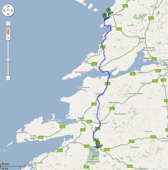 Roteiro-Carro-Doolin-Killarney