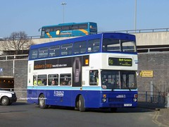Travel Coventry 3037 (MCW1987) Tags: travel west bus green pool station bell meadow mk2 coventry midlands metrobus twm mcw 3037 mk2a f37xof