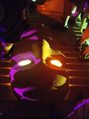 Sol's Face (a3rynsun) Tags: wood bridge sol glass effigy burningflipside 2011