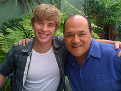 Chandler Massey and Greg Hernandez
