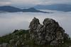 Lake Kozjak covered in clouds (kosova cajun) Tags: mountains clouds landscape macedonia makedonija peisazh maqedoni kozjaklake ezerokozjak