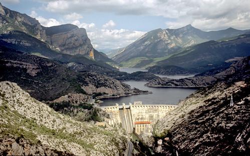 Pantà d'Oliana (Alt Urgell) [©Jaume Bonaventura]
