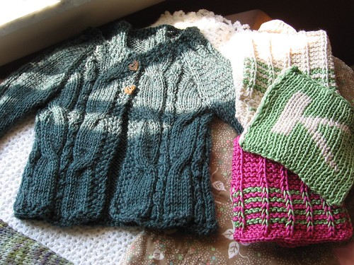Knitted gifts from Amy
