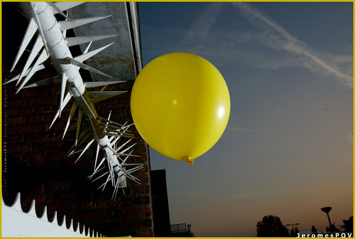 A balloon's life... by JeromesPOV.