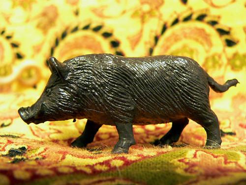 miniature warthog