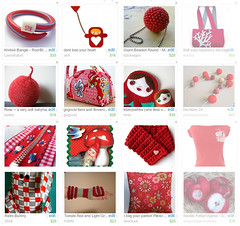All kinds of Red! - Front Page Treasury!