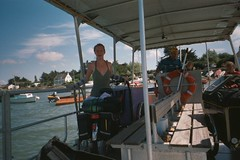 On a boat.jpg (danydo.t21) Tags: travel ireland italy dublin france art galway bicycle cheese fire artwork brittany europe artist guitar tricycle bretagne solarpanel greece shows trailer busker juggling juggler performer busking streetentertainer airbrush chickenman arcana solarpower bergerac aquitaine framus dannysharp spectacleecologique jongleurautomatique amyahern