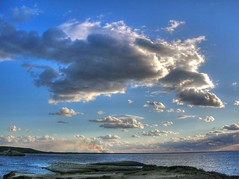 Huge clouds (annfrau) Tags: sardegna sea seascape clouds nuvole mare sardinia searchthebest sarchittu supershot passionphotography mywinners superbmasterpiece flickrelite tbgc50