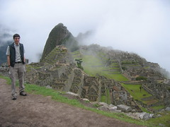 Early morning at Machu Picchu