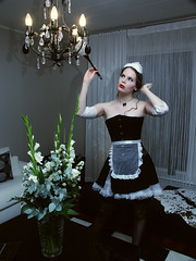 French Maid (ljosberinn) Tags: costume maid halla