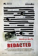 Póster y trailer de 'Redacted', la polémica cinta sobre Irak de Brian De Palma