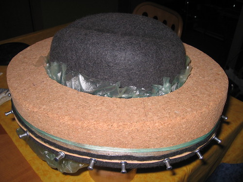 Blocked hat