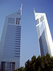 Dubai, UAE | Emirates Towers ¦ Two Sisters